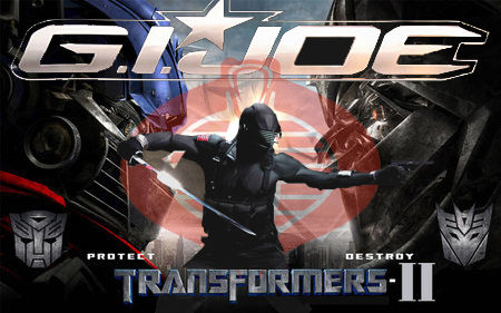 joe vs transformers G.I. Joe vs. Transformers 2: Popcorn Movie Showdown!