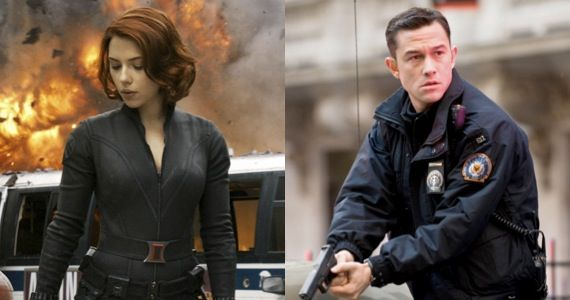 johansson levitt black widow dark knight First Look at Don Jons Addiction: John Blake Hits on Black Widow