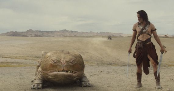 john carter taylor kitsch featurette John Carter Featurette: More Comedy, Less Sci Fi Action