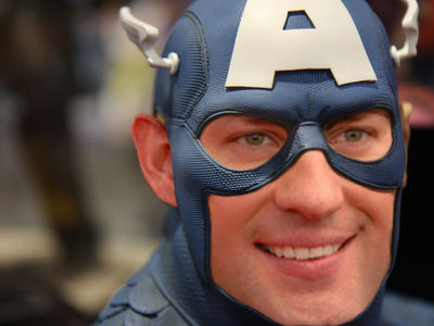 john krasinski captain america1 Dodged Bullets: 14 Actors Who Were Almost Superheroes