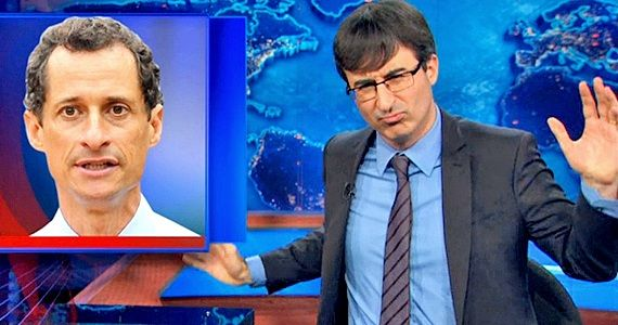 John Oliver and Carlos Danger