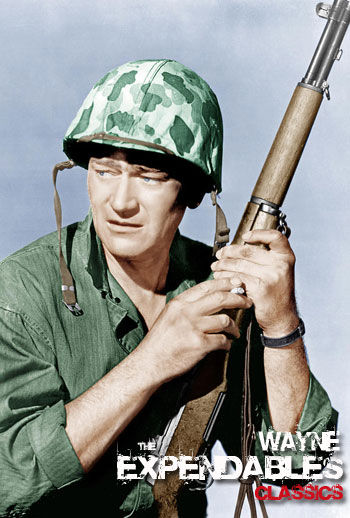 The Expendables Classic Members Edition - John Wayne