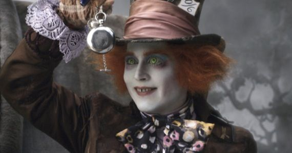 johnny depp alice wonderland Tim Burtons Alice in Wonderland is Getting a Sequel
