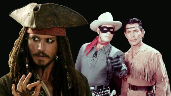 johnny depp lone ranger Disney Update: Pirates 4 & The Lone Ranger