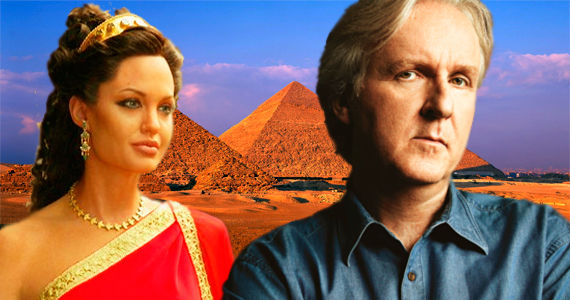 jolie cameron cleopatra James Cameron Talks Avatar Sequels, Cleopatra And More [UPDATED]