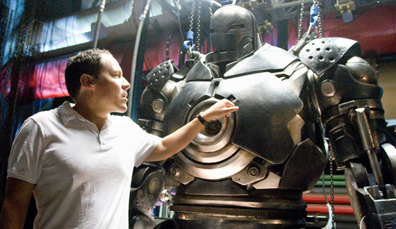 jon favreau iron man mark 1 Jon Favreau Talks Vision, Inspiration & Story for Magic Kingdom