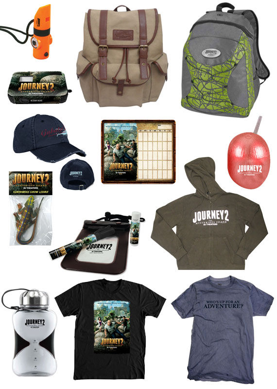 journey 2 giveaway prize pack Journey 2: The Mysterious Island Mega Prize Pack   Winner!