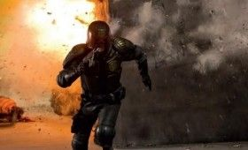 judge dredd explosion 280x170 Movie Images & Posters: Dredd, Expendables 2 and Riddick