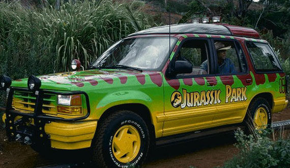 jurassic park1 25 Most Iconic Cars From TV & Movies