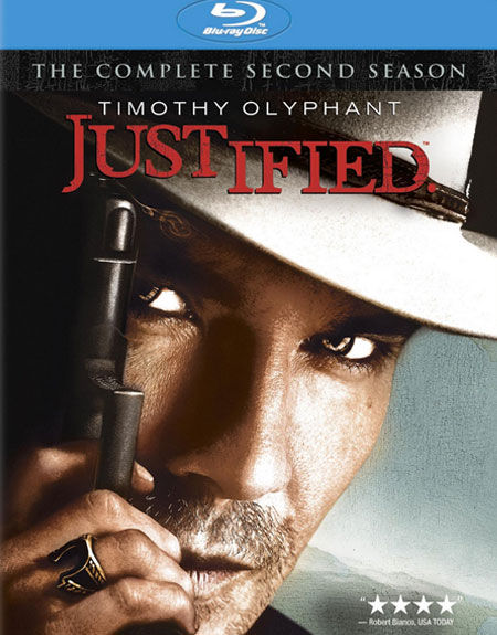 Justified: Season Two Blu-ray Cover