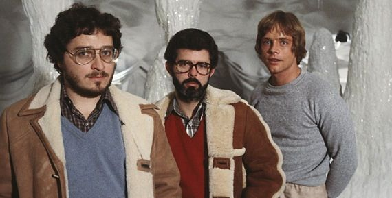 kasdan lucas hamill empire strikes back George Lucas Spent a Year Developing Star Wars: Episode 7 Before Lucasfilm Sale