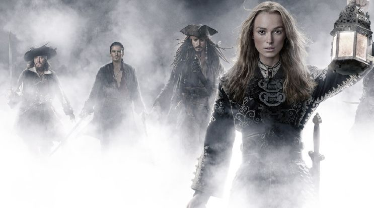 keira knightley pirates of the caribbean Barbossa is Back for Pirates of the Caribbean 4