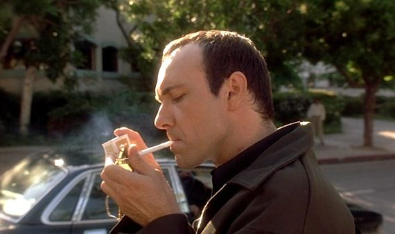 Kevin Spacey as Keyser Soze in Bryan Singer's The Usual Suspects