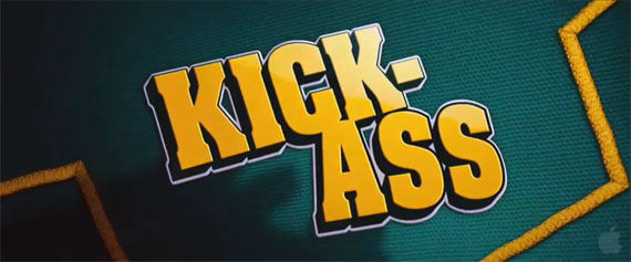 kick ass title logo New Kick Ass Trailer Does Just That