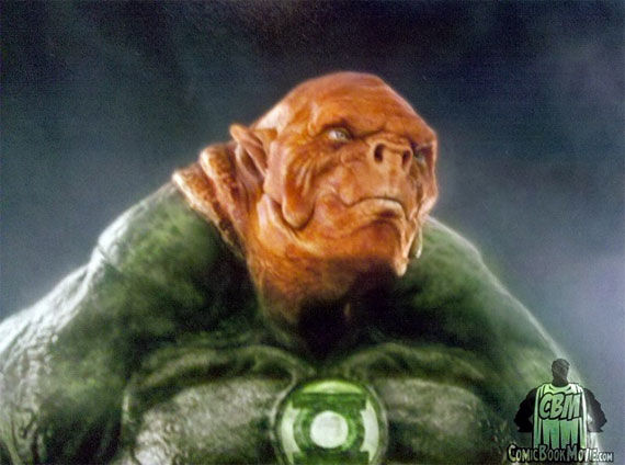 kilowog green lantern movie Final Design for Kilowog in Green Lantern
