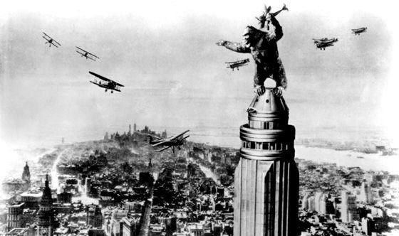 king kong 1933 Universal Studios Reboots King Kong: The Ride