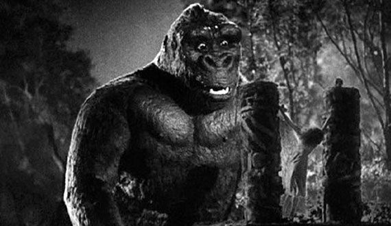 king kong kong 1933 The Evolution of the Movie Ape