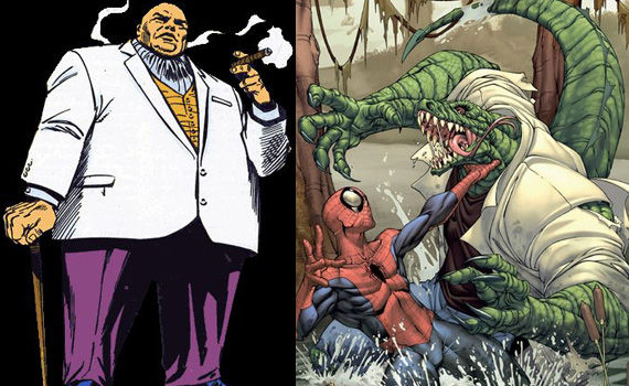 Spider-Man 4 Kingpin - The Lizard