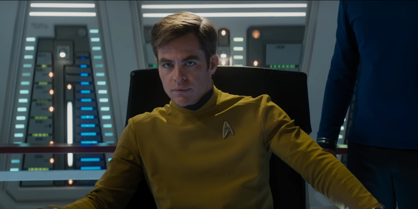 Star Trek Beyond Deleted Scene Features A Lonely Kirk