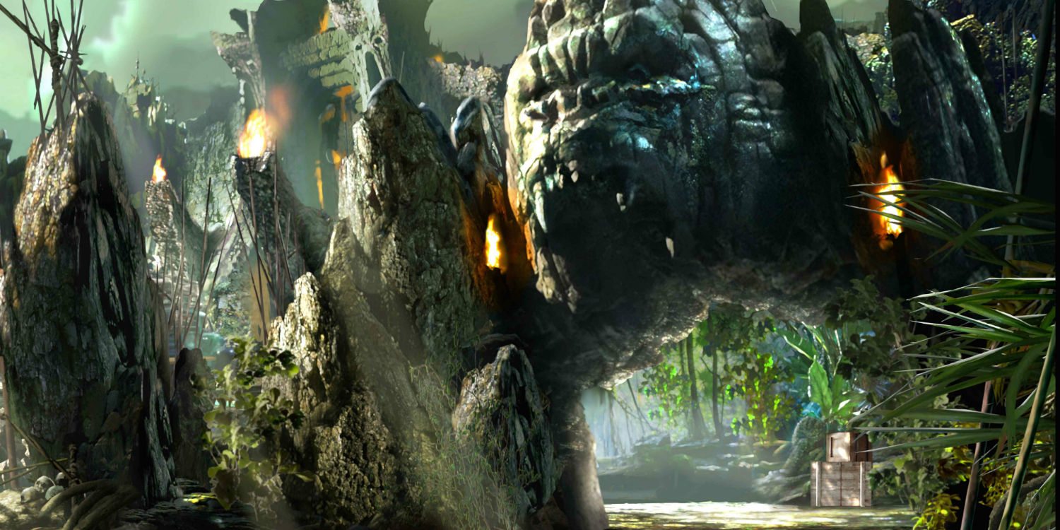 Reviews Of The Skull Island Kong Ride In Universal