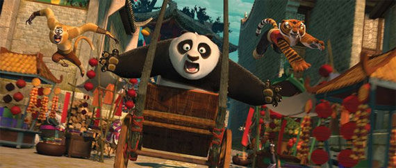 kung fu panda 2 po Movie Image Roundup: Green Lantern, Three Musketeers, Cars 2 and More [Updated]