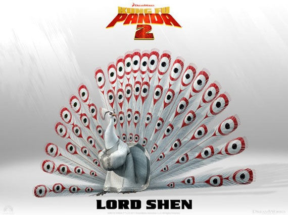 kung fu panda lord shen poster Movie Poster Roundup: Fast Five, Thor, X Men: First Class & More