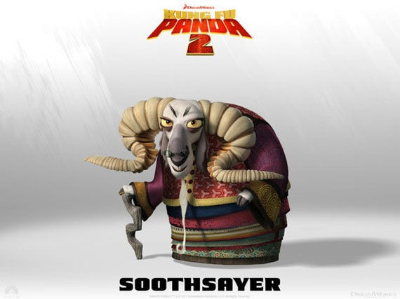 kung fu panda soothsayer poster Movie Poster Roundup: Fast Five, Thor, X Men: First Class & More