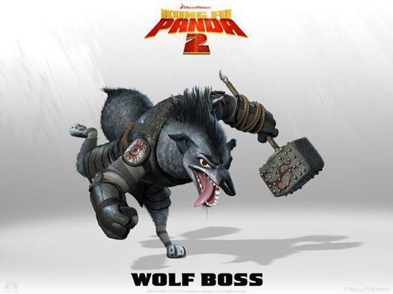 kung fu panda wolf boss poster Movie Poster Roundup: Fast Five, Thor, X Men: First Class & More