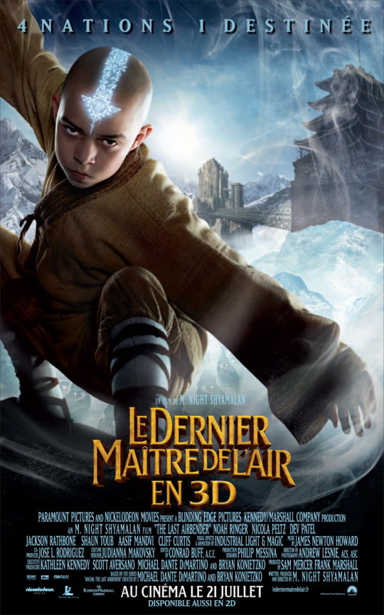 last airbender international poster The Last Airbender International Posters