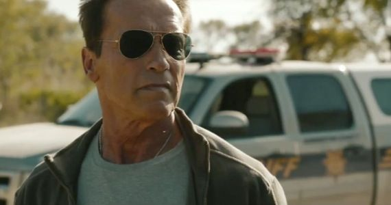 last stand trailer First Look at Arnold Schwarzenegger in the Zombie Film Maggie