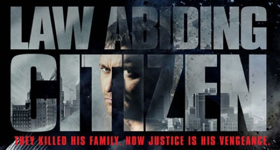 law abiding citizen banner Poster Friday: Saw 6, Legion, Daybreakers, Parnassus & More!