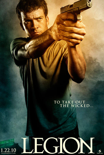 legion poster lucas black Poster Friday: Saw 6, Legion, Daybreakers, Parnassus & More!