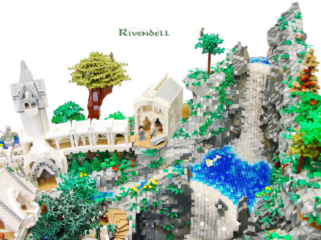 lego rivendell SR Geek Picks: The Nippled Knight Rises, Pulp Fiction Street Fighter, Pixar Expendables & More