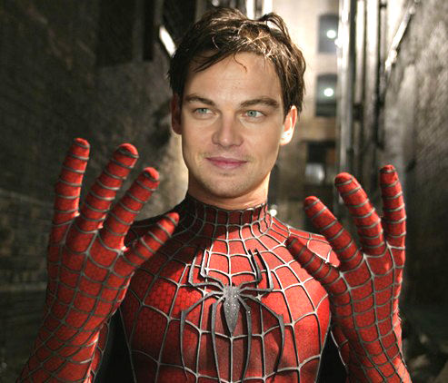 leo dicaprio spiderman Dodged Bullets: 14 Actors Who Were Almost Superheroes