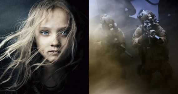 les miserables zero dark thirty reviews Les Misérables and Zero Dark Thirty Early Reviews: Great Acting and Direction