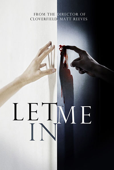 let me in matt reeves concept poster 3 Cool Posters for 'Let Me In' & 'The Book of Eli'