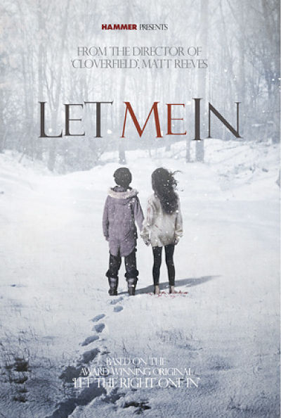 let me in matt reeves concept poster Cool Posters for 'Let Me In' & 'The Book of Eli'