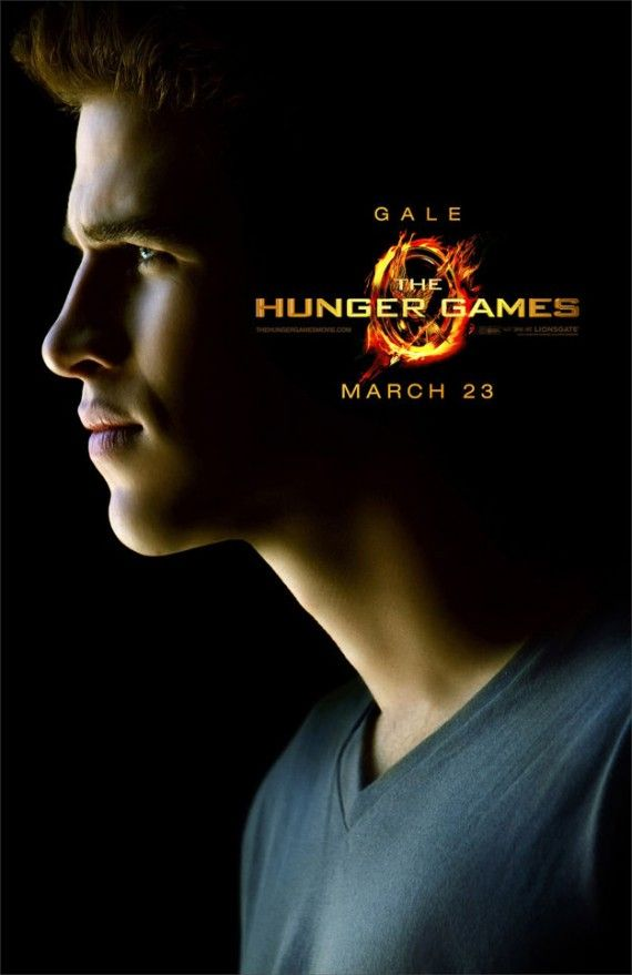 liam hemsworth gale hawthorne hunger games 570x879 Liam Hemsworth as Gale Hawthorne in The Hunger Games