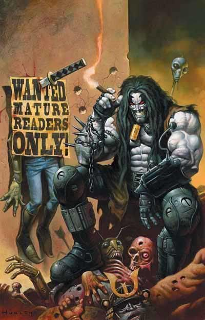 lobo2 Lobo & Judge Dredd Wont Rely on Comic Book Guys