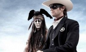 lone ranger depp hammer 280x170 New Lone Ranger Images & Poster: Johnny Depps Tonto Outfit & Lots of Trains [Updated]