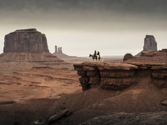 lone ranger monument valley scene 570x427 Monument Valley, as Featured in Lone Ranger