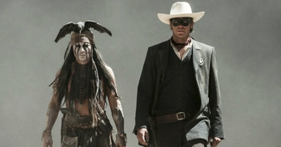 lone ranger trailer depp hammer Jerry Bruckheimer Gives Top Gun 2 Update; Not Sure About Lone Ranger Sequel