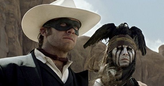 lone ranger trailer Lone Ranger Trailer: Johnny Depps Serious (and Stylish) Western Adventure