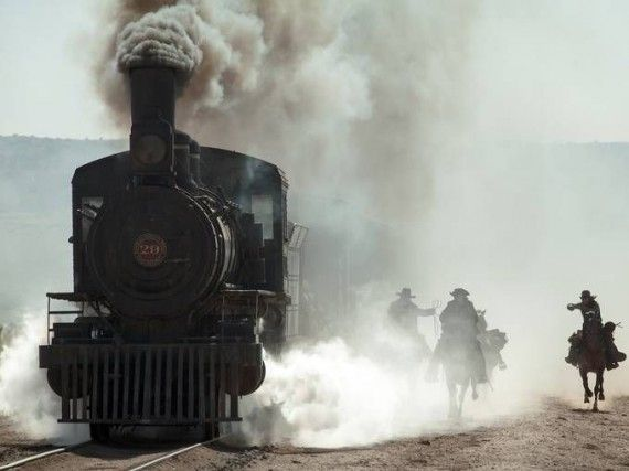 lone ranger train robbery 570x427 A Train Robbery Commences in Lone Ranger