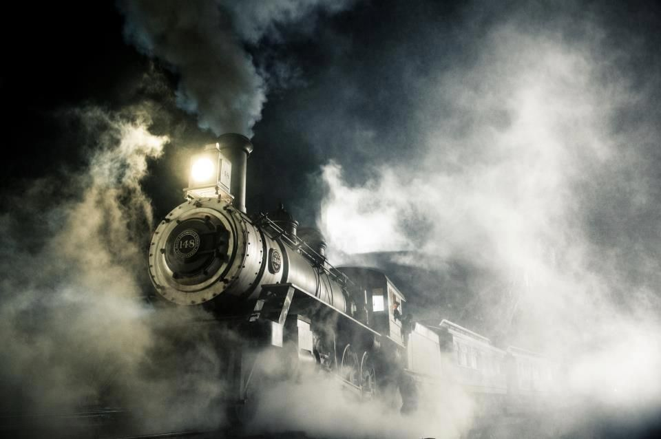 A Steam-Powered Locomotive in 'The Lone Ranger'