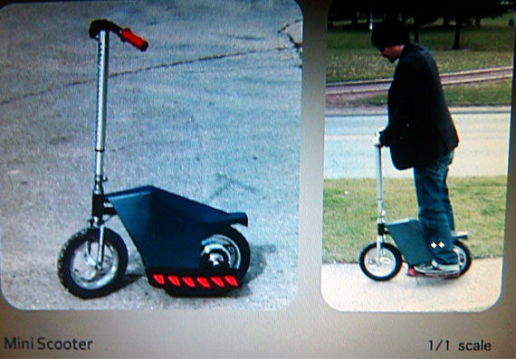 looper mini scooter Movie Image Roundup: Green Lantern, Three Musketeers, Cars 2 and More [Updated]