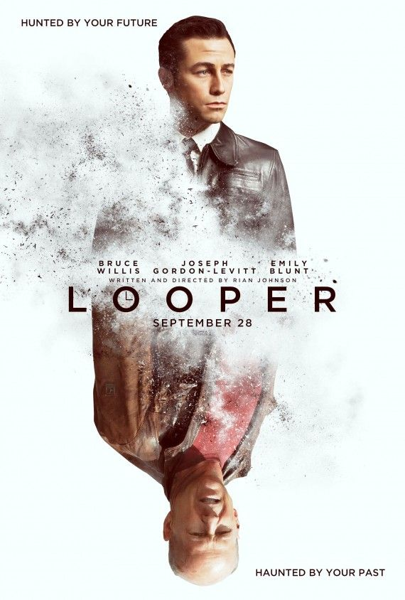 looper poster 570x844 Official Looper Poster