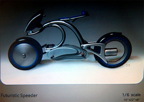 looper speeder Movie Image Roundup: Green Lantern, Three Musketeers, Cars 2 and More [Updated]