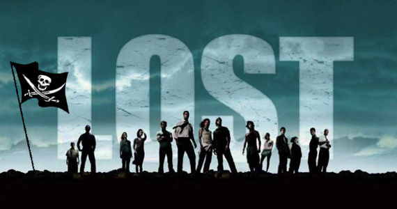 lost pirate flag Lost, Heroes and Dexter Top Most Pirated Shows of 2010