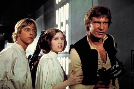 luke han leia 570x380 Star Wars Episode 7: Joss Whedon Wouldnt Have Brought Back Original Characters
